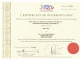 Accreditation Certificate from Malaysian Qualifications Agency